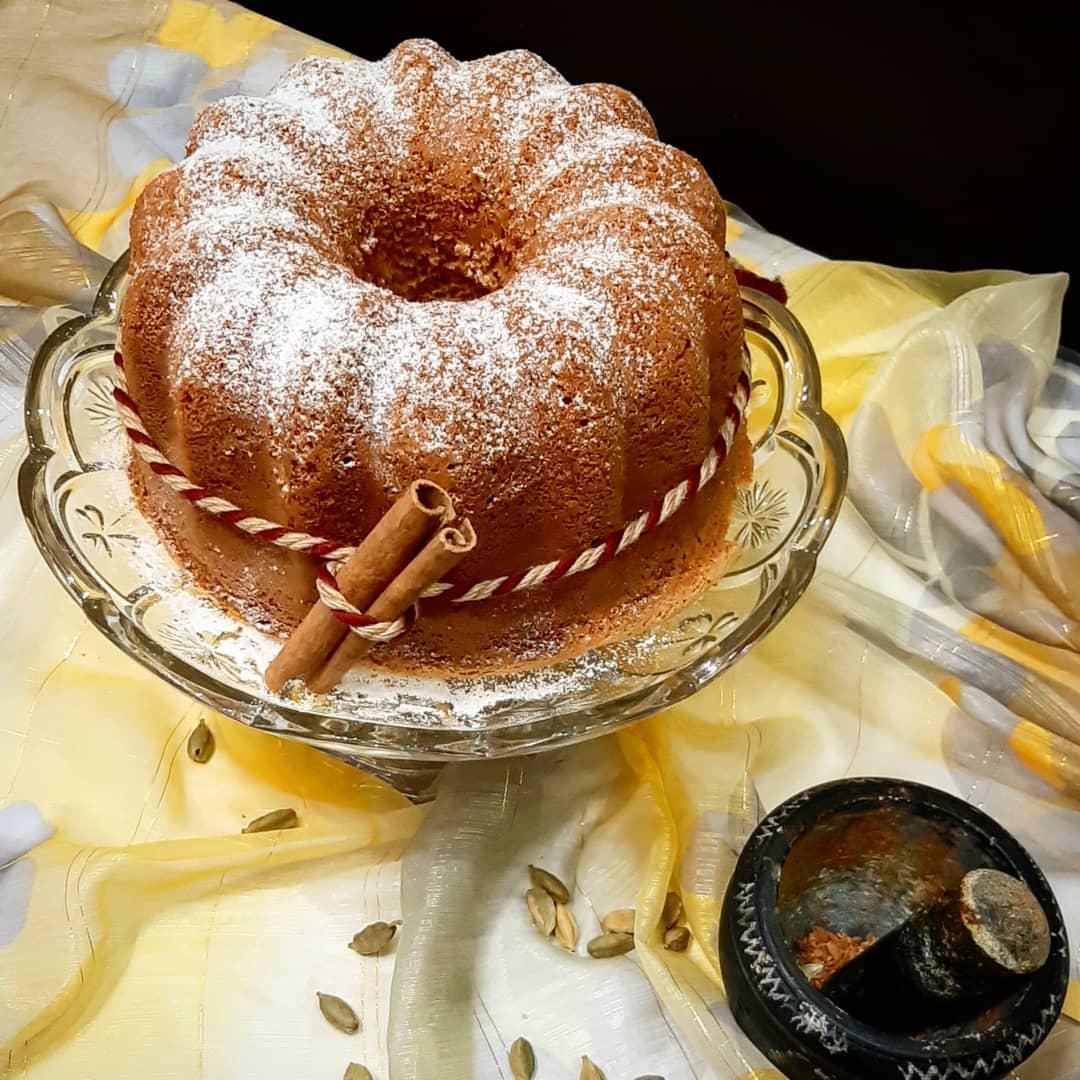 طرز تهیه کیک هل و دارچین خوشمزه و خوش عطر مرحله به مرحله