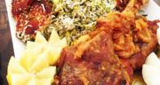 طرز تهیه چلو گوشت بوقلمون سرخ شده خوشمزه و مجلسی و آسان
