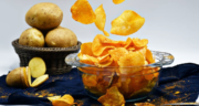 طرز تهیه چیپس سیب زمینی خانگی خوشمزه و کم روغن به دو روش