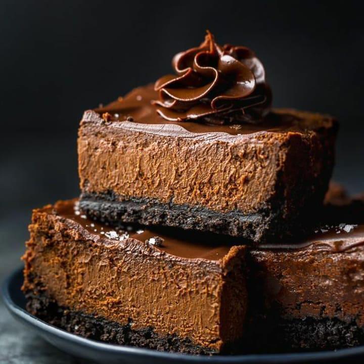 طرز تهیه چیز کیک شکلاتی با فر، دسر حرفه ای، خوشمزه و مجلسی