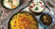 طرز تهیه دمی لوبیا چشم بلبلی با مرغ خوشمزه به روش شیرازی