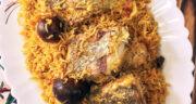 طرز تهیه هواری پلو جنوبی خوشمزه و لذیذ با ماهی به روش بندری