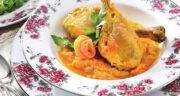 طرز تهیه خورش نارنگی خوشمزه و خوش رنگ و لعاب