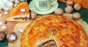 طرز تهیه نان گاتا گردویی و کره ای ترد و خوشمزه و مغزدار