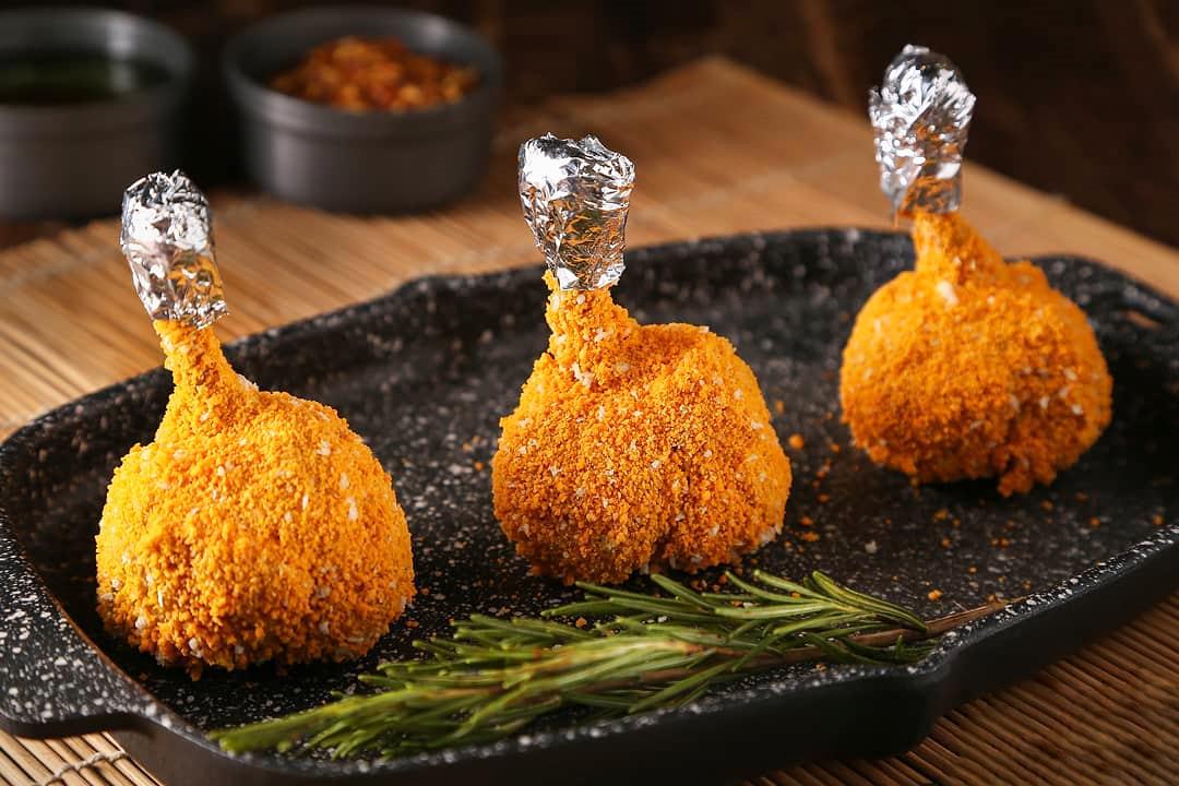 طرز تهیه پاچینی مرغ سوخاری تند و خوشمزه و با ادویه مخصوص به روش فست فودی