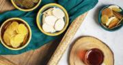 طرز تهیه پولکی کنجدی زعفرانی خوشمزه در منزل به روش اصفهانی