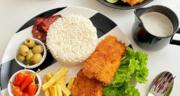 طرز تهیه شنیسل ماهی قزل آلا خوشمزه و مجلسی در ماهیتابه و فر