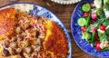 طرز تهیه سماق پلو خوشمزه و مجلسی با گوشت قلقلی به روش اردبیلی