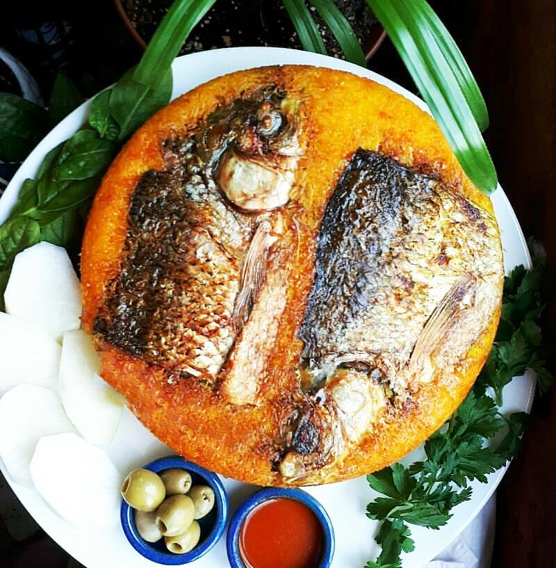 طرز تهیه ته چین ماهی قزل آلا خوشمزه و مجلسی مرحله به مرحله