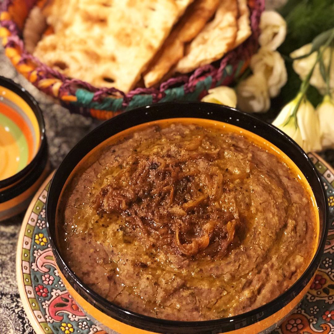 طرز تهیه آش گوشت سنتی و بازاری بوشهری خوشمزه و مجلسی