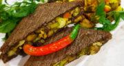 طرز تهیه اسنک گیاهی [وگان] خوشمزه و مجلسی با سبزیجات و قارچ