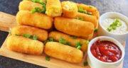 طرز تهیه کروکت سیب زمینی و سوسیس پنیری خوشمزه و مجلسی