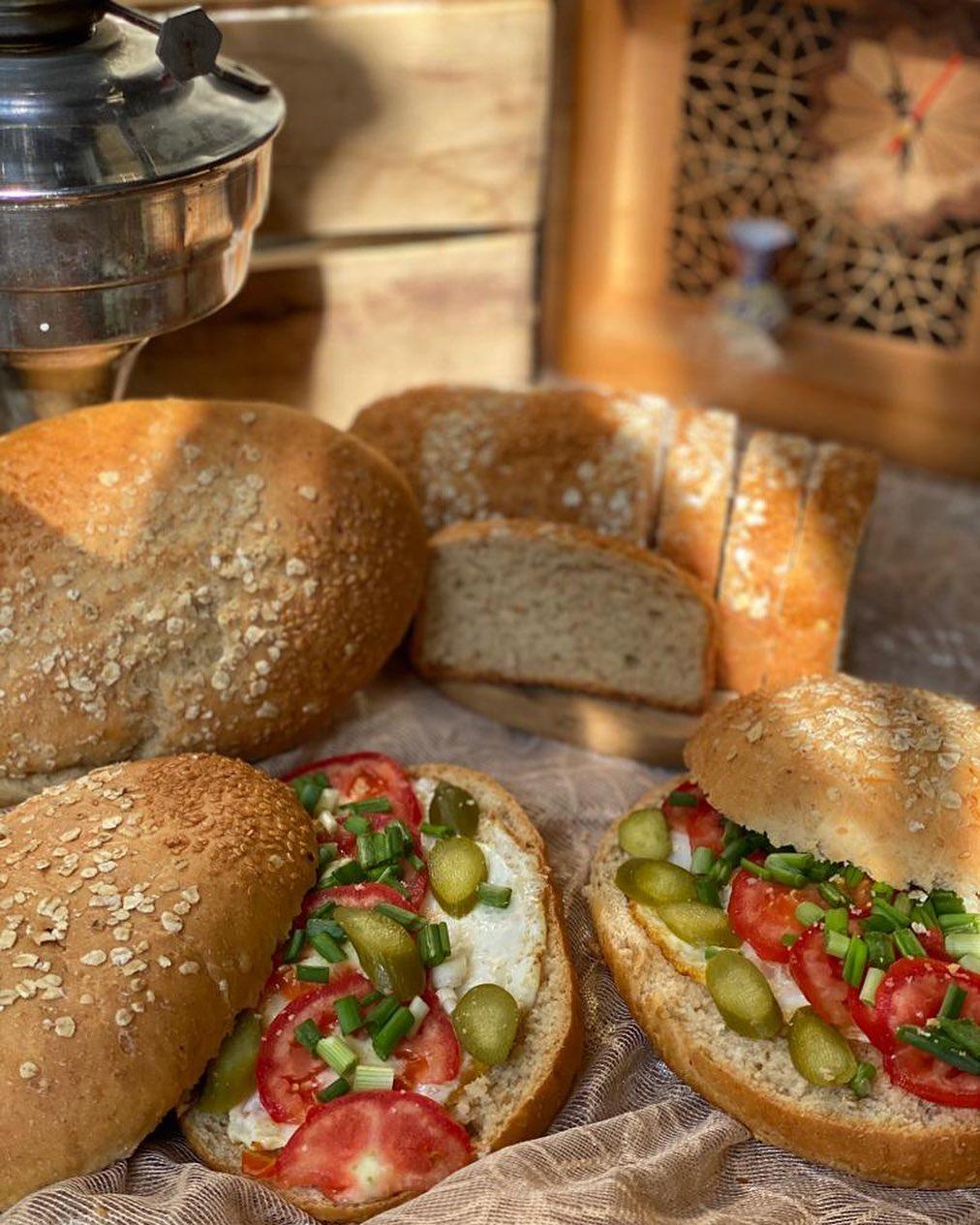 طرز تهیه نان سبوس دار خانگی خوشمزه و حرفه ای در فر