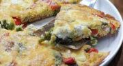 طرز تهیه املت ایتالیایی یا فریتانا خوشمزه و پنیری و آسان بدون نیاز به فر