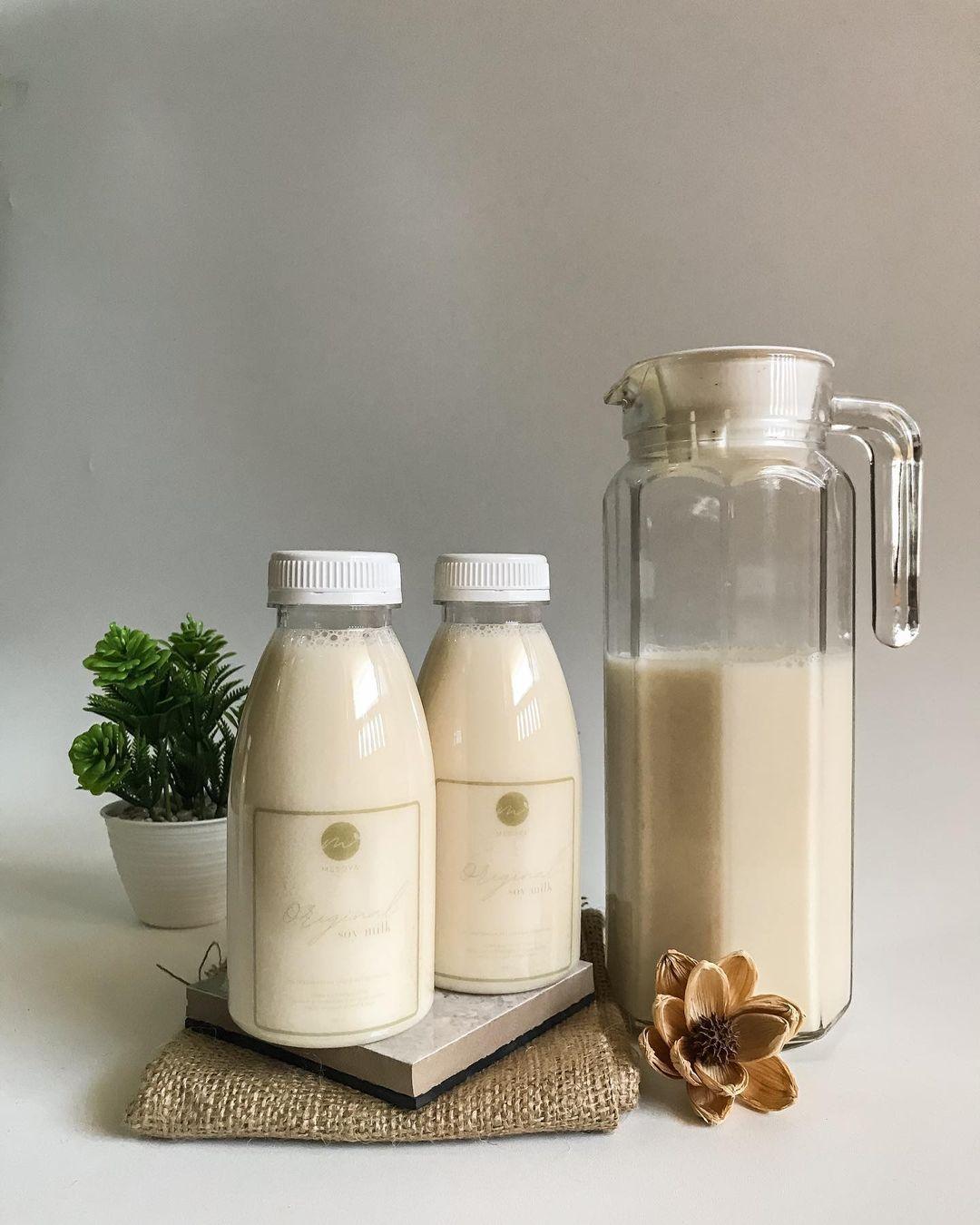 طرز تهیه شیر سویا