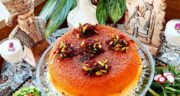طرز تهیه ته چین شیرازی خوشمزه و مجلسی با مرغ و بادمجان