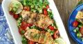 طرز تهیه فیله ماهی بریان رژیمی خوشمزه و رستورانی