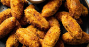 طرز تهیه کروکت مرغ و پنیر خوشمزه با دستور تهیه آسان