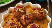 طرز تهیه کوفته هلو شیرازی اصل خوشمزه و مجلسی با هویج