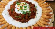 طرز تهیه کوزالاک مانتی ساده و خوشمزه ترکیه با گوشت چرخ کرده