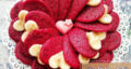 طرز تهیه پنکیک ردولوت ساده و خوشمزه با رنگ خوراکی