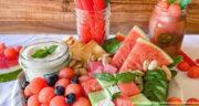 طرز تهیه سالاد هندوانه خوشمزه و مجلسی با پنیر و نعنا
