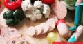 طرز تهیه سوسیس مرغ خانگی ساده و خوشمزه به شکل کارخانه ای
