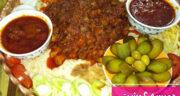 طرز تهیه حمیسه گوشت عربی خوشمزه و ساده مرحله به مرحله