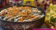 طرز تهیه آش کلم برگ خوشمزه و سنتی به روش تبریزی