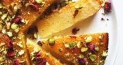 طرز تهیه کیک سمولینا شربتی خوشمزه و مجلسی مرحله به مرحله