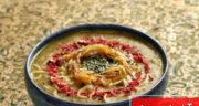 طرز تهیه آش ابودردا خوشمزه و ساده مخصوص چهارشنبه سوری