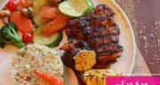 طرز تهیه مرغ جرک جامائیکایی تند و بسیار خوشمزه و آسان