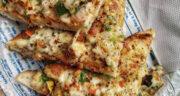 طرز تهیه پیتزا میکری فوری و آسان و خوشمزه با ساندویچ ساز