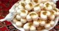 طرز تهیه شیرینی آردی نارگیلی بازاری خوشمزه و مجلسی