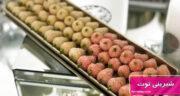 طرز تهیه شیرینی توت خانگی و خوشمزه قزوین با بادام بدون فر