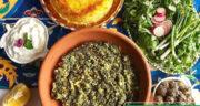 طرز تهیه سیرابیج گیلانی ساده و خوشمزه با مرغ به روش محلی