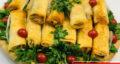 طرز تهیه انواع اسپرینگ رول گوشت و مرغ و سبزیجات خوشمزه و مجلسی