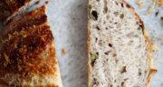 طرز تهیه نان زیتون ایتالیایی ساده و خوشمزه با زیتون و روغن زیتون