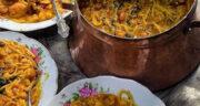 طرز تهیه آش آلو بخارا اردبیلی ساده و خوشمزه بدون گوشت با رشته
