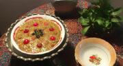 طرز تهیه آش یارما اردبیل ساده و خوشمزه با بلغور گندم به روش محلی