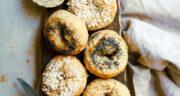 طرز تهیه نان بیگل خانگی ساده و عالی با مخمر خشک فوری در فر