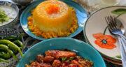 طرز تهیه خورش آلو زرشک شمالی بسیار خوشمزه و ساده با مرغ