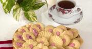 طرز تهیه شیرینی سابله پسته فرانسوی ساده و خوشمزه برای عید