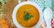 طرز تهیه سوپ لپه ساده و خوشمزه با گوشت و سبزیجات