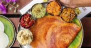 طرز تهیه دوسا یا پنکیک هندی ساده و خوشمزه با پودر آنغوره