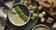 طرز تهیه آش دوینه یا ترخینه خوشمزه کردستان به روش سنتی
