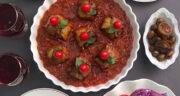طرز تهیه بقچه بادمجان خوشمزه و مجلسی با گوشت با فر و بدون فر