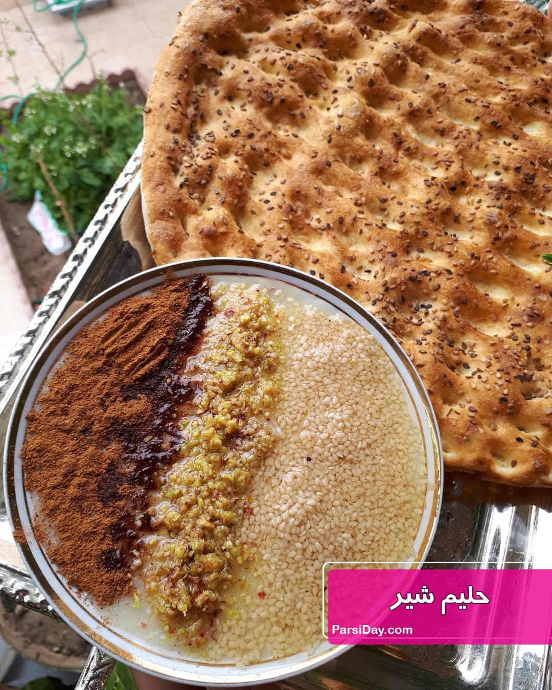 طرز تهیه حلیم شیر خوشمزه اصفهان با گندم پوست کنده و گوشت