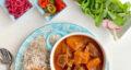 طرز تهیه خورش کدو حلوایی خوشمزه و آسان با گوشت و آلو بخارا