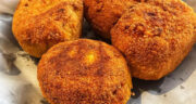 طرز تهیه کبه سیب زمینی عربی خوشمزه با گوشت چرخ کرده بدون فر